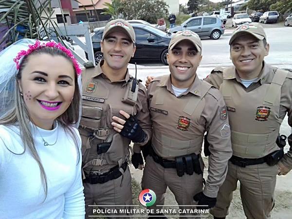 Polícia Militar de Itapoá participa de evento em prol da APAE