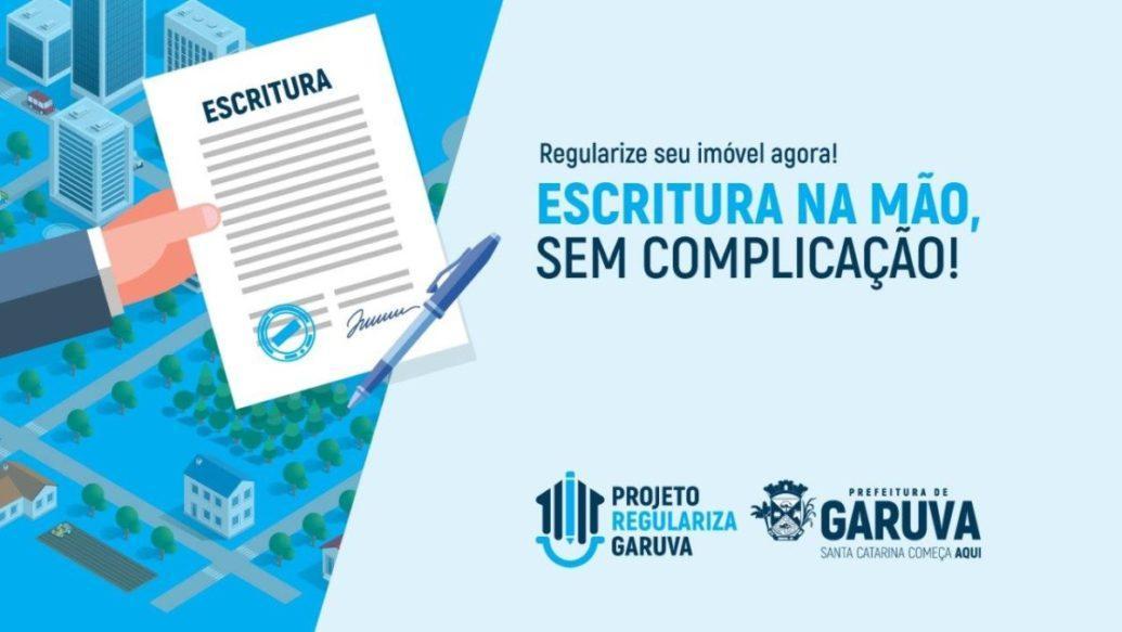 projeto REGULARIZA GARUVA iniciará na próxima semana