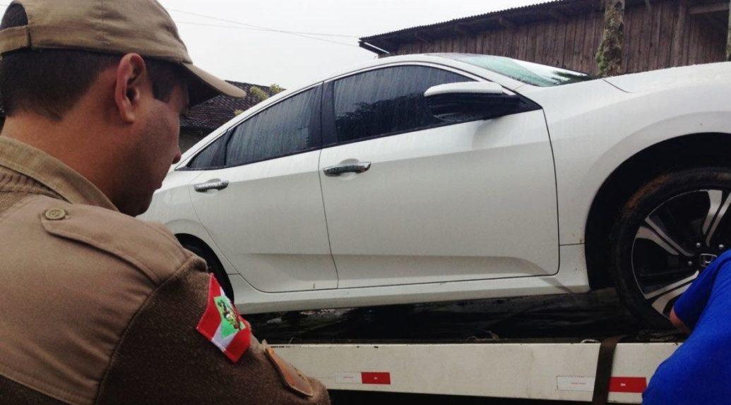 Operação da Polícia Militar de Garuva e Itapoa, prende três por assalto a residência