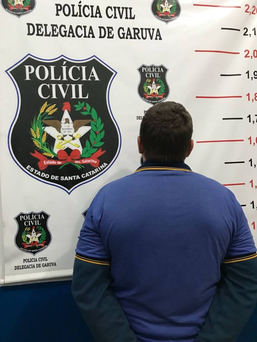 Polícia Civil de Garuva prende pedófilo em flagrante