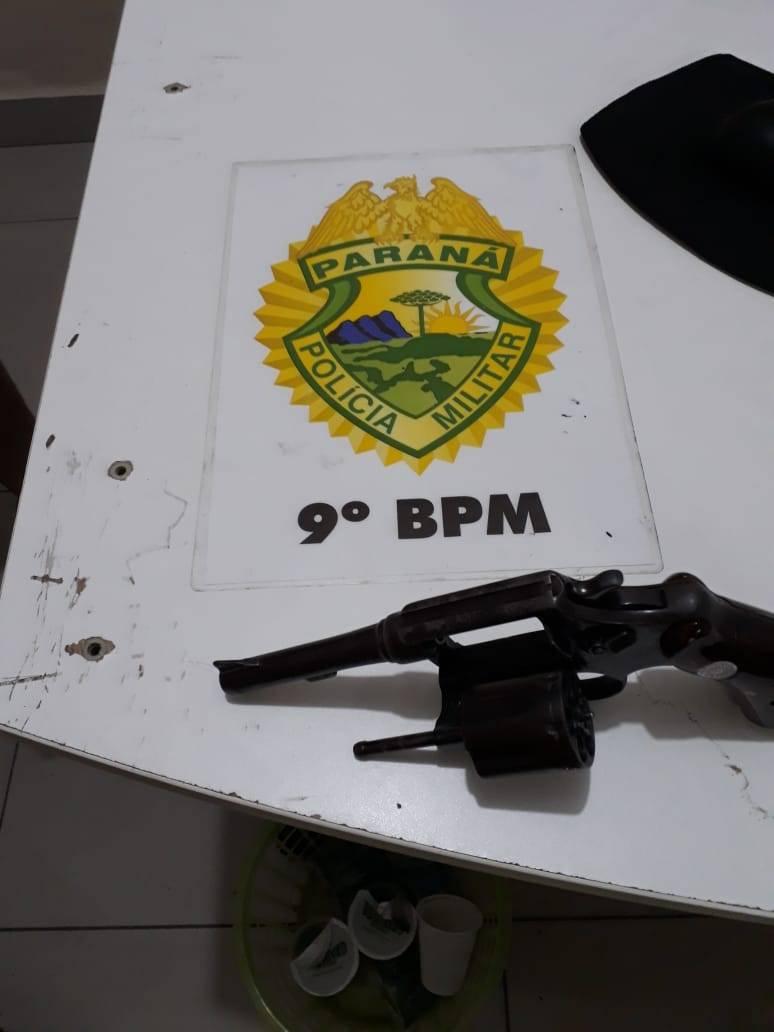 Após denúncia, homem é preso com arma de fogo em Guaratuba