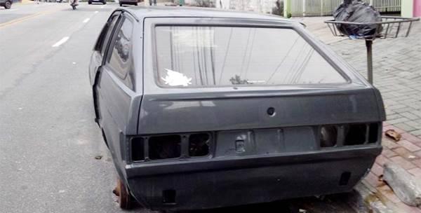 Lei que prevê a remoção de automóveis abandonados em ruas de Garuva começa e valer no início de novembro