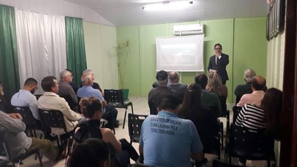 Núcleo da Construção Civil e Imobiliário de Garuva promoveu Palestra sobre licenciamento ambiental e os riscos para o setor imobiliário