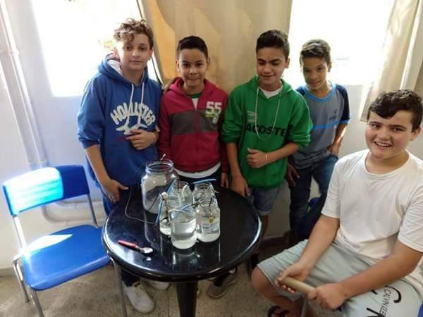 Alunos garuvenses participam de Projeto Itinerante em parceria com FIESC-SESI