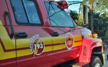Bombeiros atendem ocorrência de princípio de incêndio em escola de Garuva