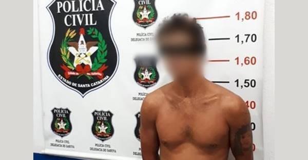 SUSPEITO DE TENTATIVA DE HOMICÍDIO É PRESO EM FLAGRANTE PELA POLÍCIA CIVIL DE GARUVA