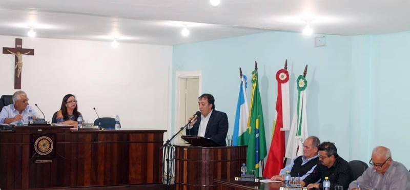 Sessão Solene marca o retorno dos trabalhos na Câmara de Vereadores de Garuva