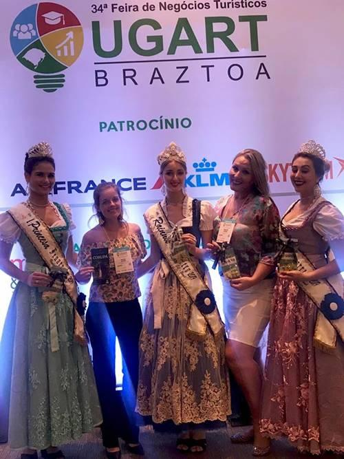 Garuva participa da 34ª Feira de Negócios Turísticos no Rio Grande do Sul