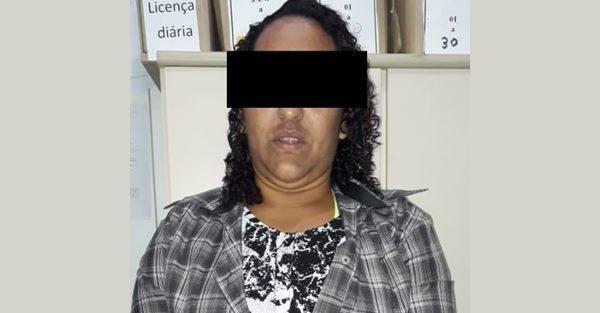 Polícia Civil de Garuva prende mulher com mandado de prisão por tráfico de drogas