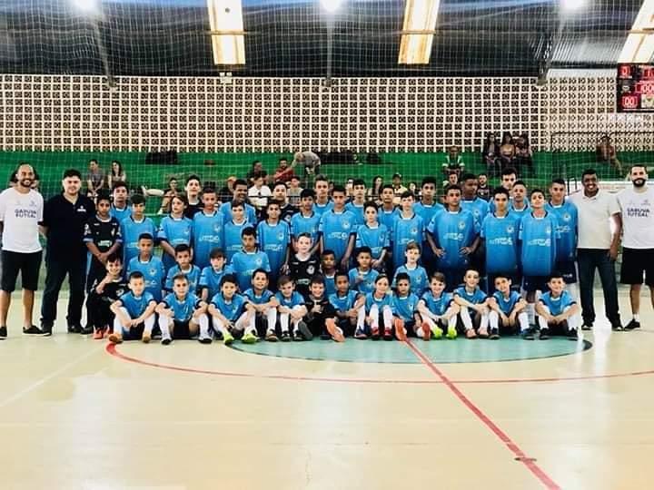 Alunos de Projeto esportivo de Garuva estão se destacando no Campeonato Citadino em Joinville