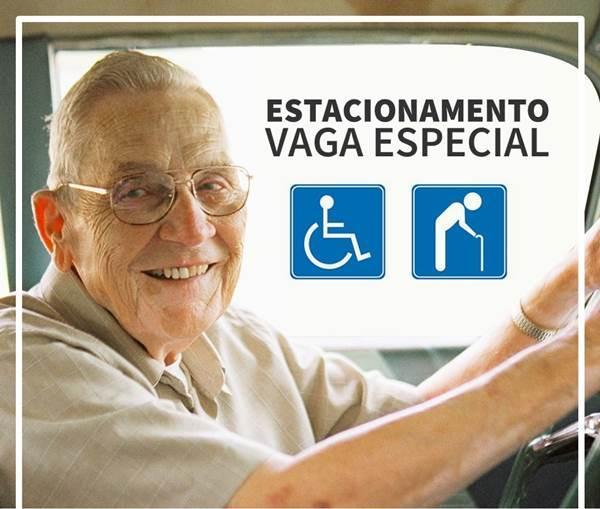 Credencial para vaga em estacionamento para idosos e deficientes é emitido na hora pelo DEMUTRAN em Garuva