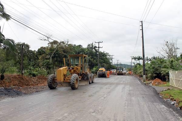 Projeto prevê empréstimo de até 12 Milhões de reais para pavimentação de ruas em Garuva