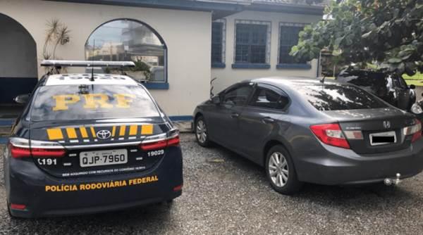 Empresário desaparecido é encontrado pela PRF e encaminhado à Delegacia de Garuva