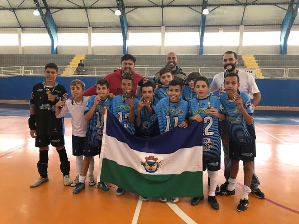 Ouro para Garuva na fase micro regional dos Jogos Escolares de SC