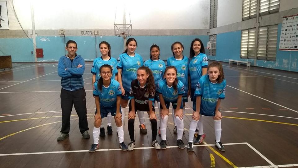 Meninas do Garuva Futsal conquistaram a prata nos Jogos Escolares de Santa Catarina