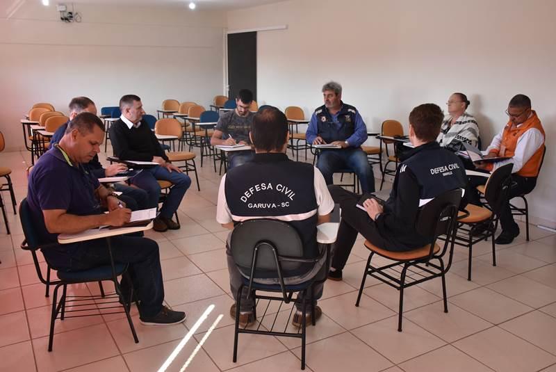 4ª REUNIÃO DO COLEGIADO DE DEFESA CIVIL É REALIZADA EM GARUVA