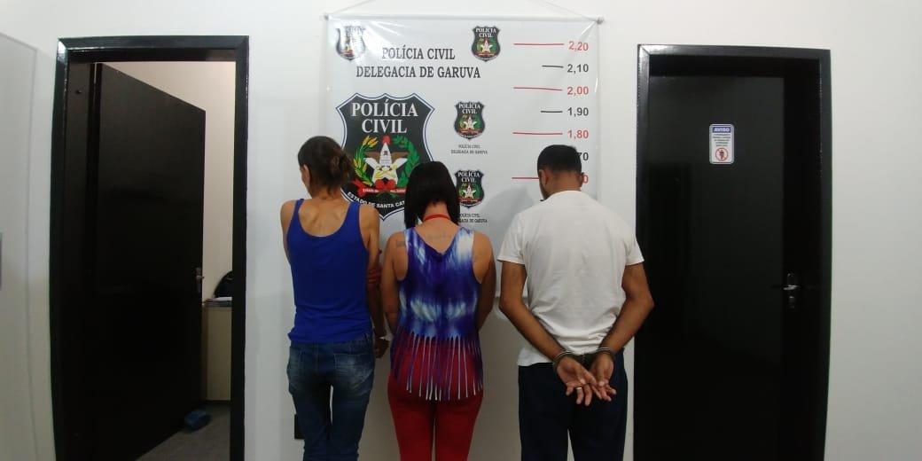 Polícia Civil de Garuva prende família de traficantes