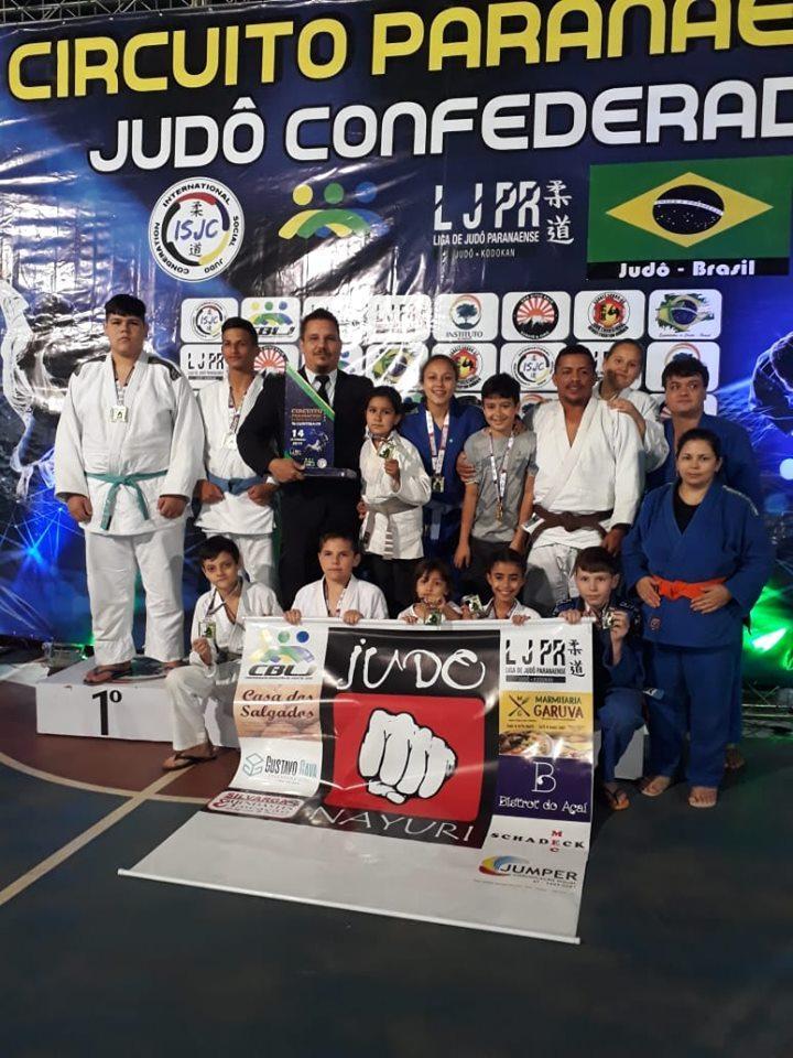 Academia Nayuri Judô fez bonito em Curitiba, na 2° etapa do Circuito Paranaense de Judô