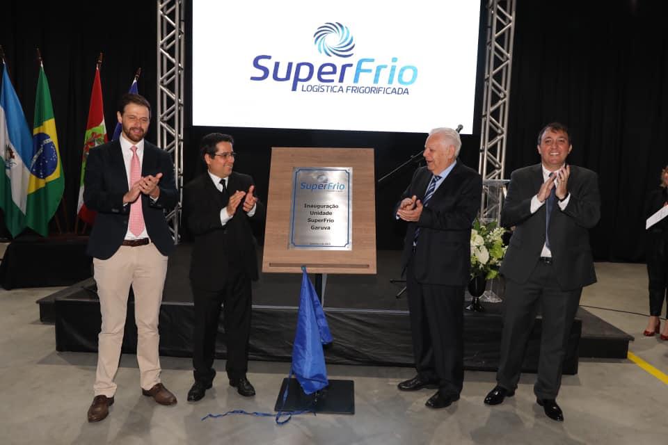 SuperFrio inaugura centro logístico frigorificado em Garuva