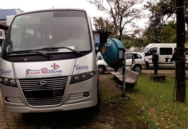 Agendamento de Transporte para consultas e exames Fora de Garuva passam a ser feita nas Unidades Básica de Saúde