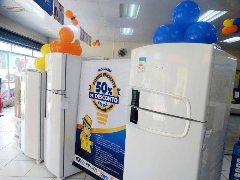Celesc lança programa que concede 50% de desconto em eletrodomésticos
