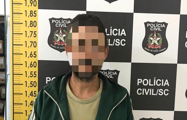 Condenado por roubo em Garuva é preso pela Polícia Civil de Santa Cecília