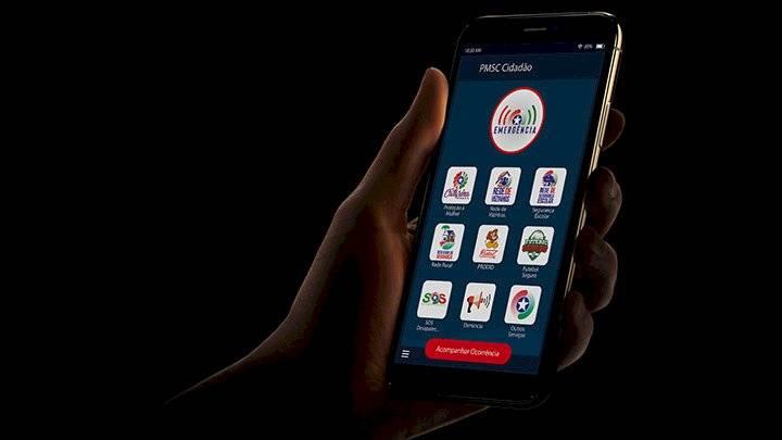 Aplicativo PMSC Cidadão é lançado em Santa Catarina