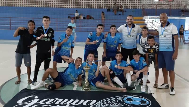 Sub 16 do Garuva é Campeão da Copa dos Campeões da Champions Kids