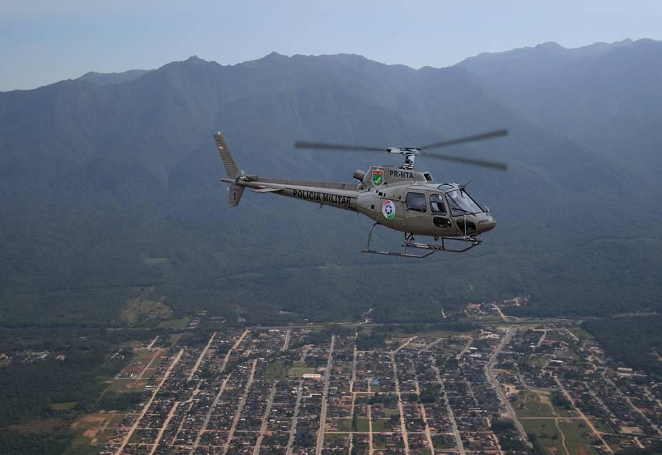 Segurança de Garuva será reforçada com policiamento aéreo a partir de janeiro de 2020