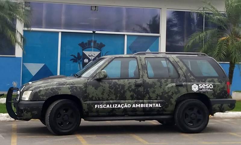 Garuva conta a partir de hoje (02) com um novo veículo para fiscalização ambiental