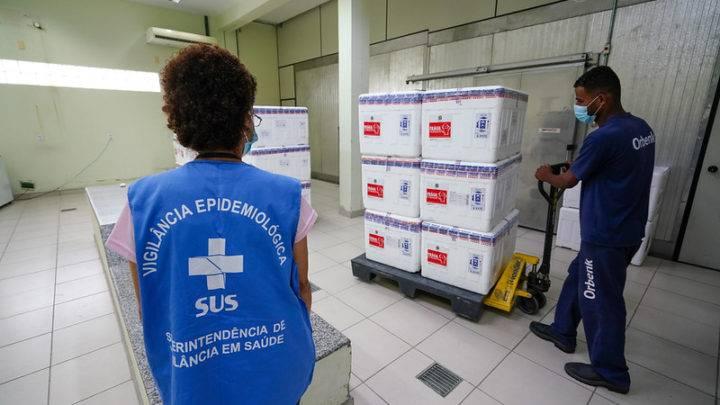 Vacinação contra a covid-19 começa nesta quarta-feira (20) em Garuva.