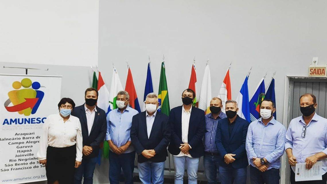 Prefeito de Garuva é eleito presidente da Associação dos Municípios do Nordeste de Santa Catarina