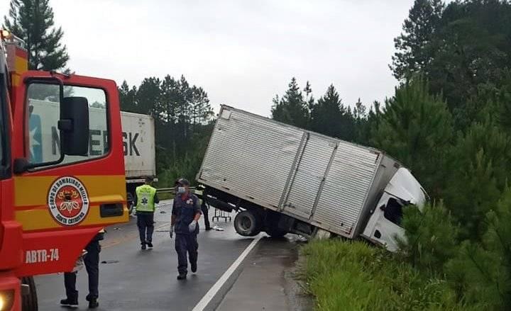 Motorista morre em acidente na Rodovia SC-415 nesta terça-feira (19)