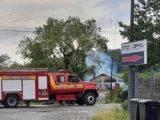 Incêndio destrói casa no Bairro Urubuquara, em Garuva